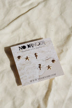PACIFIC Sea Life Gold Filled Stud Earring Set