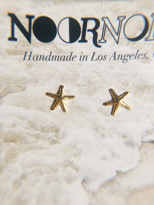 SIA Starfish Gold Filled Dainty Stud Earring