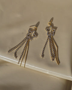TARA Crystal Shooting Star Earring
