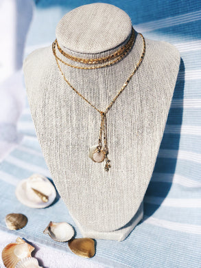 SIRENE Seashell Wrap Necklace