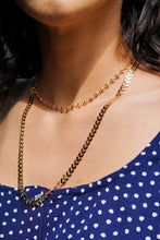 KALI Long Chain Necklace Gold 22""