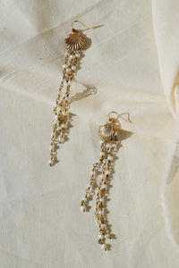 ARIEL Seashell & Pearl Earrings