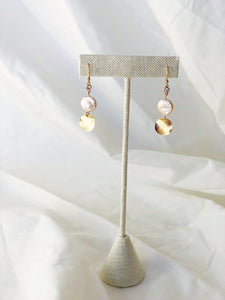 CHLOE Freshwater Pearl Gold Filled Earrings