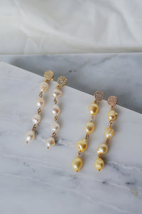 ADELLA Pearl Drop Earrings