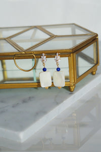 ELLIS Mother of Pearl Statement Earrings