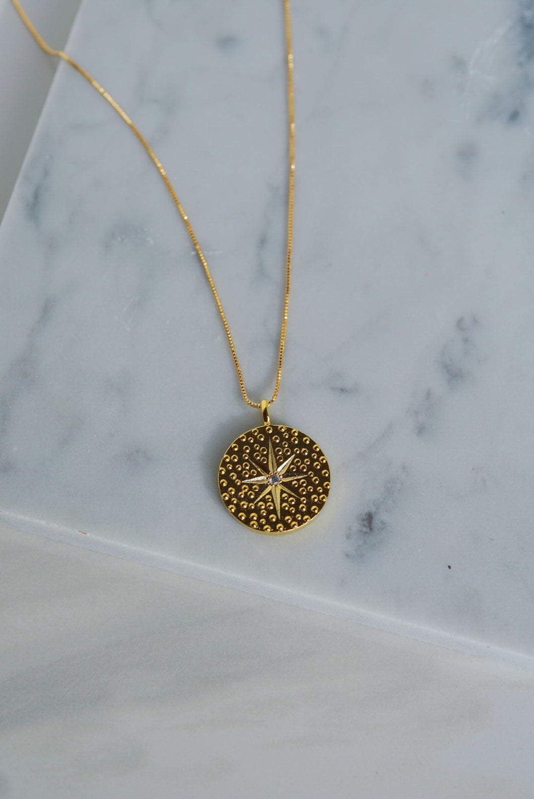 POLARIS North Star Coin Necklace