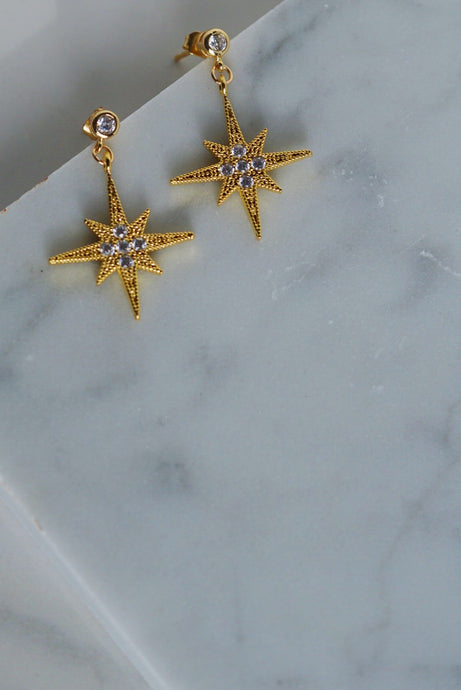 APOLLO North Star Earrings
