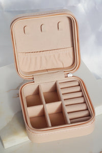 Travel Jewelry Box Pink