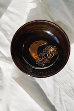 LUNA Celestial Jewelry Dish (Fatima's Clay Collaboration) Black