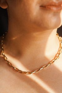 MELROSE Chunky Chain Necklace Gold