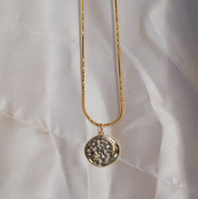 CELESTE Moon & Star Coin Necklace Necklace