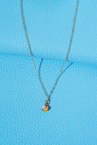 PIPPA Seashell Pearl Pendant Necklace Gold Filled