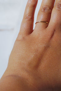 WYATT Everyday Thin Stacking Ring