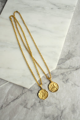 SPARROW Victory Medallion Necklace