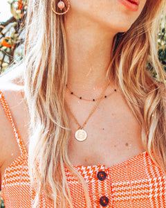 ZOE Zodiac Coin Necklace