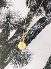 TREVI Gold Plated Coin Necklace