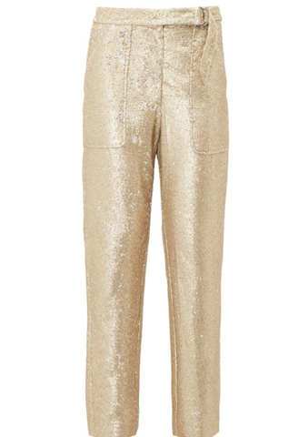 Gold trousers Matches Fashion