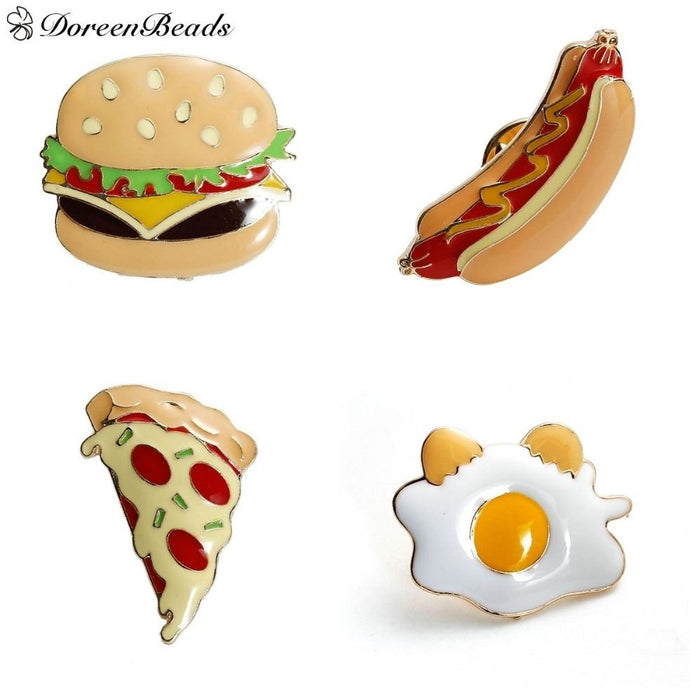 Junk Food Enamel Pins