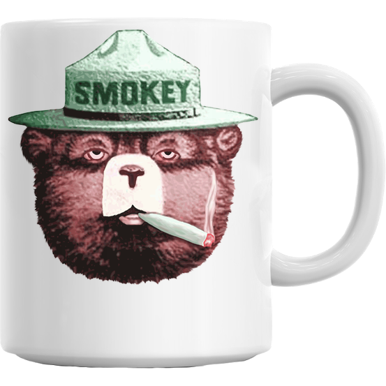 Smokey Bear Gets High Mug