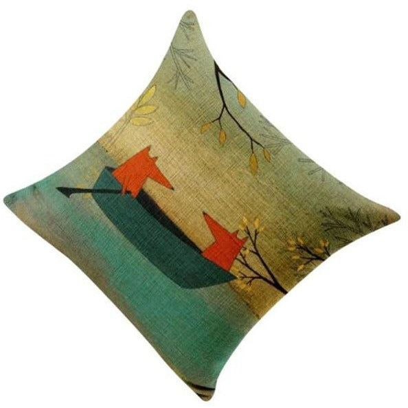 Watercolor Pillow Cover