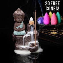 Buddha Incense Burner - 20 Cones Included