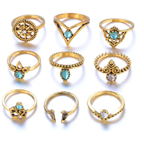 Ring Set (9 pcs)