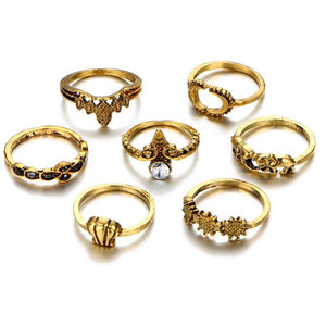 Bohemian Ring Set (7 pcs)