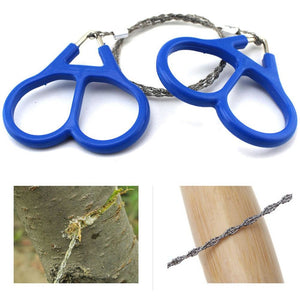 Steel Wire Camping/Survival Saw