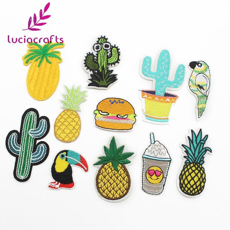 Desert-Themed Iron On Patch Set (11 pcs)