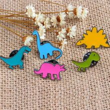Dinosaur Enamel Pin Set (5 pcs)