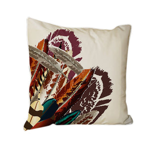 Feather Throw Pillows
