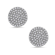 Bassali 14K White Gold Diamond Cluster Stud Earrings - Gems by G Fine Jewelry