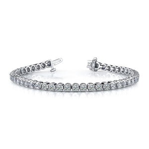 Classic 4 Prong Diamond Tennis Bracelet