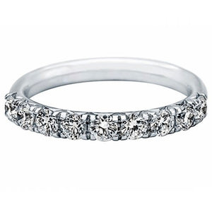 Kimberley Diamond 18K White Gold 0.72 ctw Diamond Wedding Band