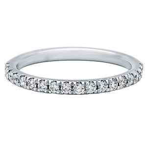 Kimberley Diamond 18K White Gold Diamond Wedding Band (0.33 ctw) - Gems by G Fine Jewelry