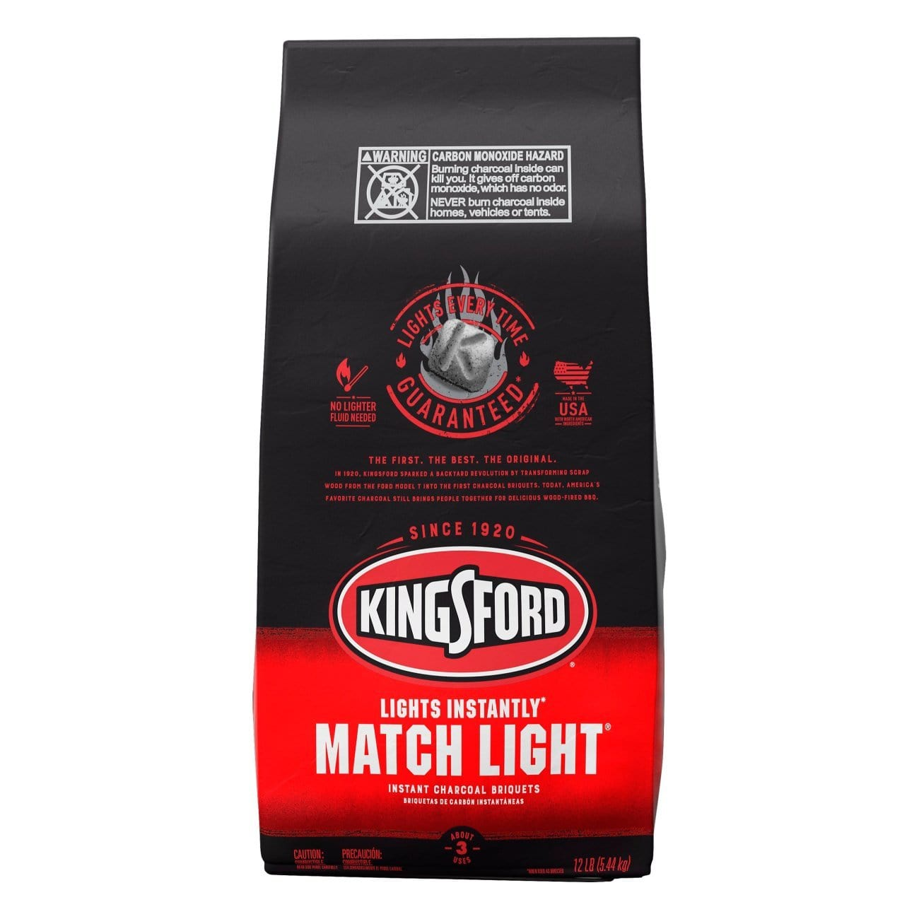 Carbon Kingsford Matchlight