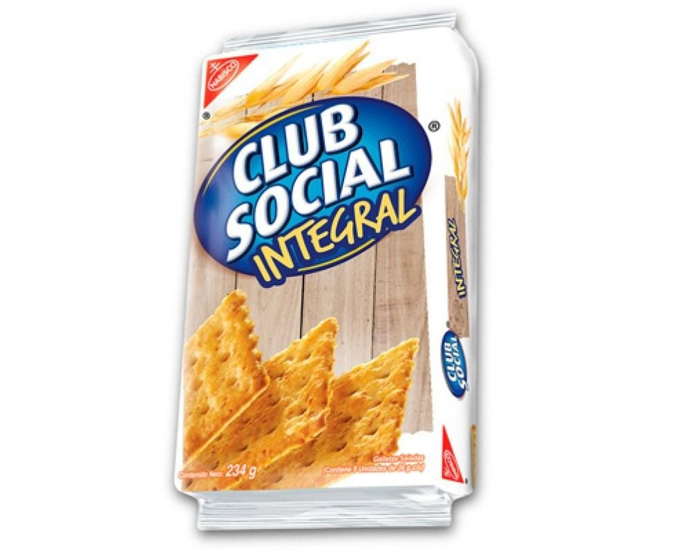 Galletas Integrales Club Social