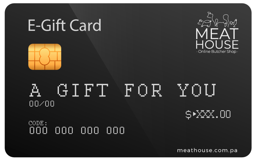 Gift Card - Meat House Panama
