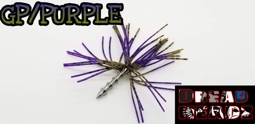 GP/Purple 3/32oz Dread Head Weights