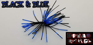 Black & Blue 3/32oz Dread Head Weights