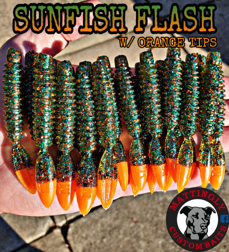 Sunfish Flash w/ Orange Tips 3.25
