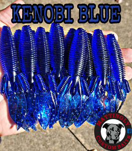 "Kenobi Blue 4.25"" Flippin' Mutts"