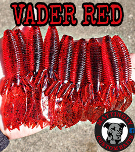 "Vader Red 4.25"" Flippin' Mutts"
