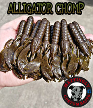 "Alligator Chomp 3.75"" Craws"