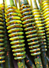 "Crawdad Orange 5.25"" Alpha Pup Worms"