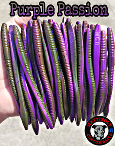 "Purple Passion 5"" Shaky Shot Worms"