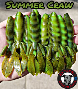"Summer Craw 4.25"" Flippin' Mutts"