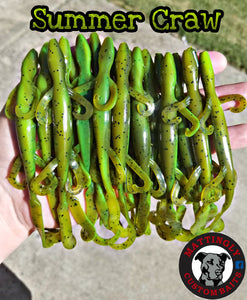 "Summer Craw 6"" Lizards"