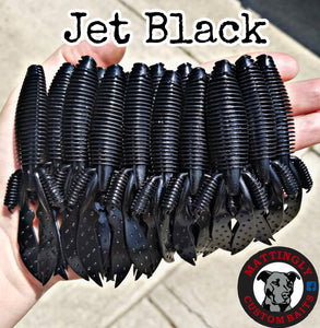 "Jet Black 4.25"" Flippin' Mutts"