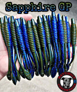 "Sapphire GP 5.25"" Alpha Pup Worms"